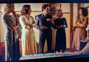 Las chicas del cable con Francisco