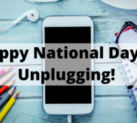 Happy National Day of Unplugging!
