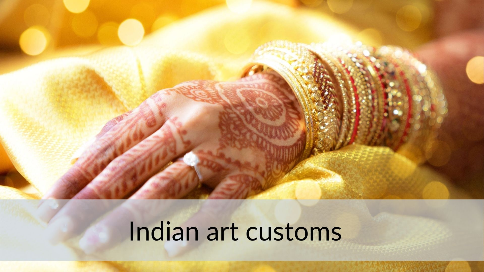Indian traditions henne