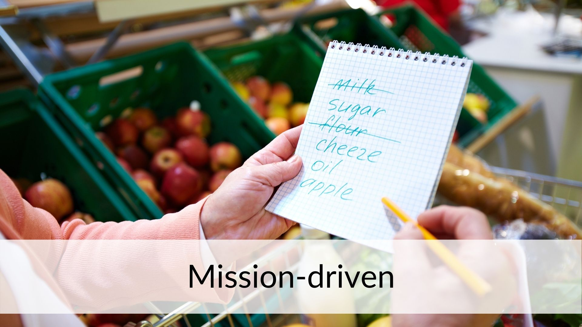 mission-driven style