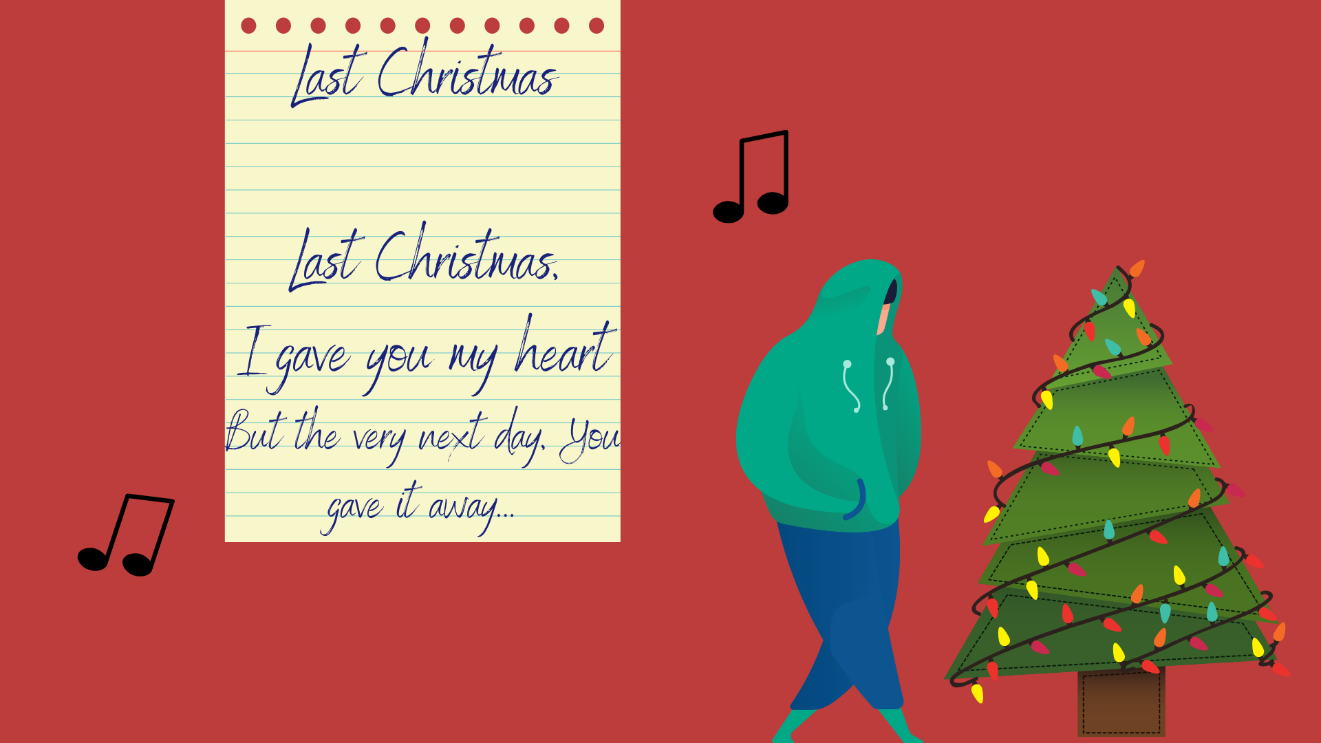 "English song ""Last Christmas"""