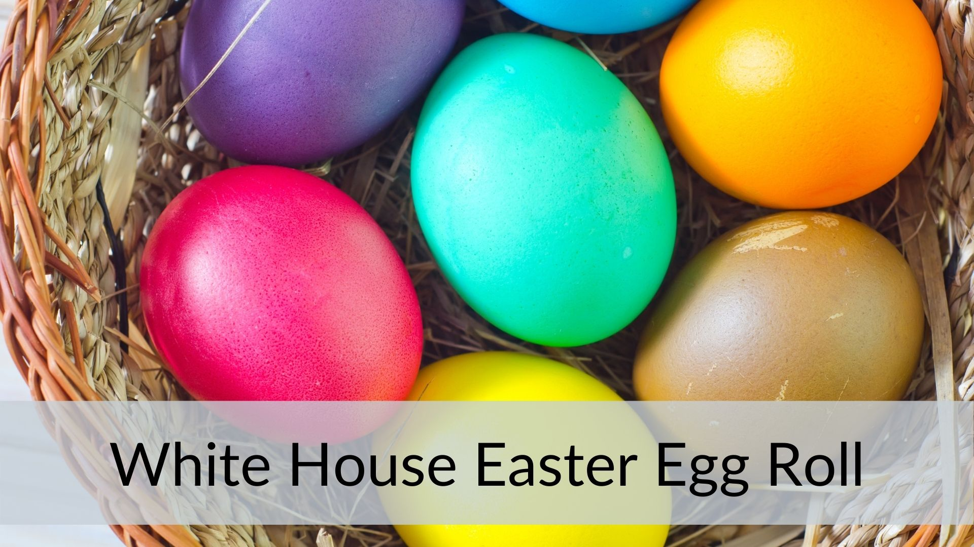 easter holidays White House