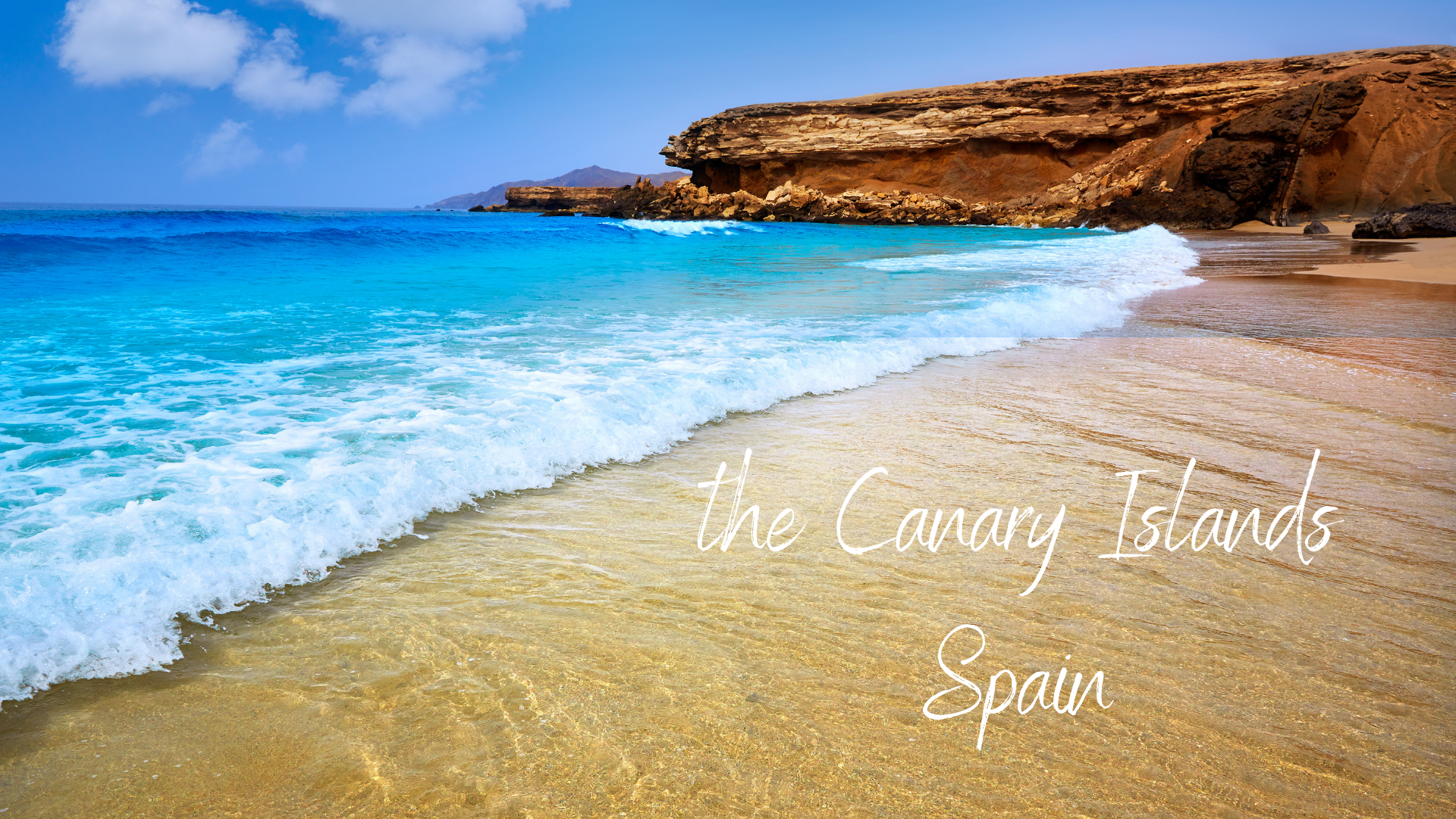 Beach vacation in Spain