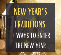 new years traditions